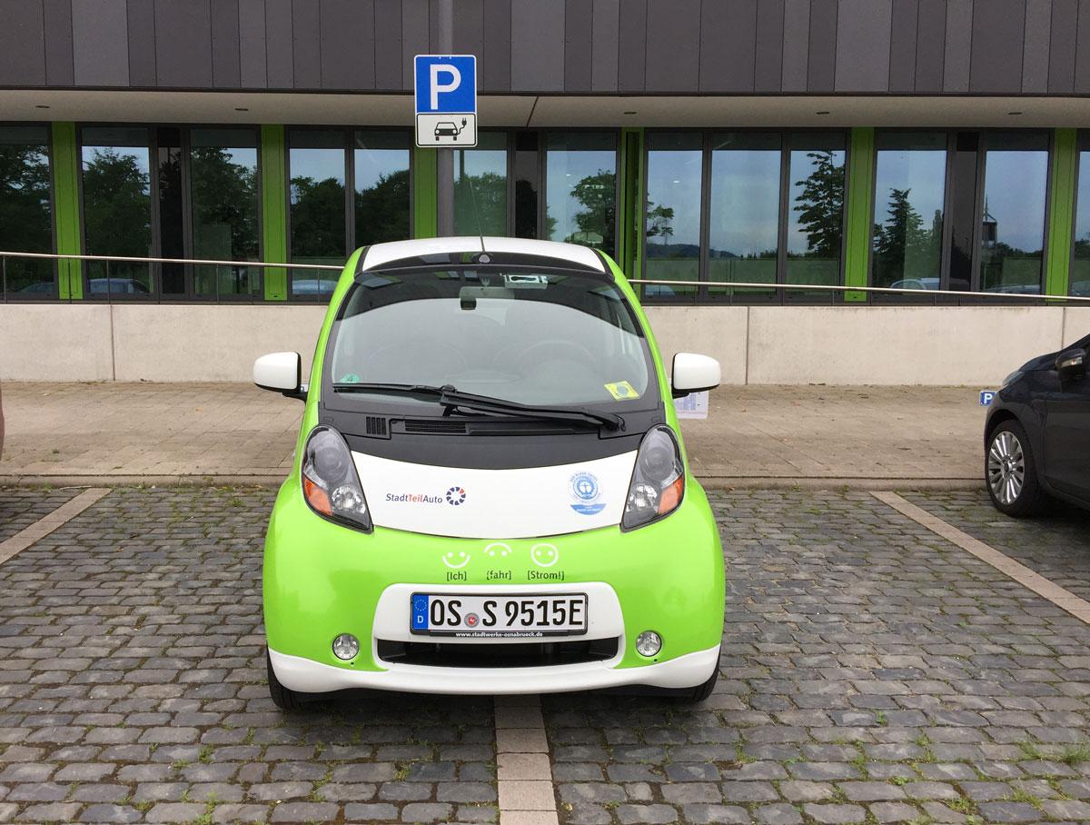 Elektroauto von Stadtteilauto Osnabrück