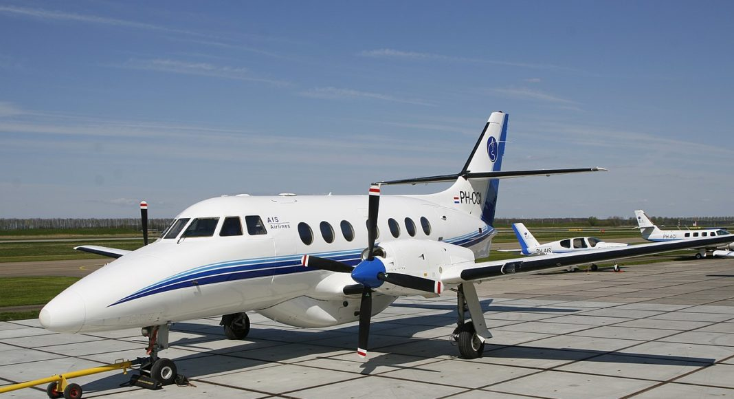 BAe Jetstream 32 der AIS Airlines